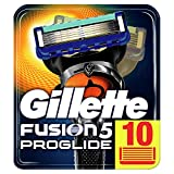 Gillette Fusion5 ProGlide Razor Blades, 10 Refills