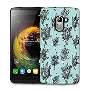 Snoogg seamless pattern with turtles seamless pattern can be used for wallpaper Designer Protective Back Case Cover For Lenovo K4 Note
