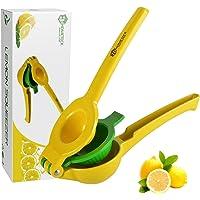 HomeTeck® Presse Citron 2 En 1, Presse-citron Manuel Presse Agrumes, Alliage D'aluminium, Sans BPA, Va Au Lave-vaisselle…