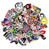 Sticker Pack 100-Pcs,Neuleben Sticker Decals Vinyls for Laptop,Kids,Cars,Motorcycle,Bicycle,Skateboard Luggage,Bumper Stickers Hippie Decals bomb Waterproof … (sticker-2)