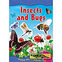 The Home Fusion Company Wonderful World Of Insects & Bugs Sticker Activity Book
