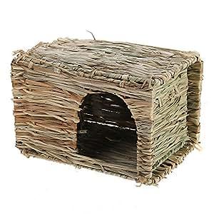 Cage Maison Clapier Lapinière Abri pour Lapin Souris Hamster Chinchilla Rongeur
