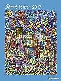 Kalender 2017 Kunstkalender James Rizzi Wandkalender 48 x 64 cm Hochformat Posterkalender