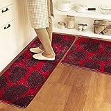 Lx.AZ.Kx Fußmatten Küche Lange Wasseraufnahme Anti-rutsch Matte Oil-Resistant Schlafzimmer Bett...