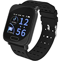 SHOPTOSHOP Smart Watch for Android and iOS Phone IP68 Waterproof, Fitness Tracker Watch with Heart Rate Monitor Step Sleep Tracker, Smartwatch Compatible with iPhone Samsung, Watch for Men Women