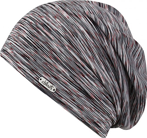 Chillouts Helsinki Hat black/white/red