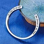 K-Y Engraved Memorial Urn for Ashes Waterproof Bracelet Stainless Steel Detachable Cremation Urn Cremation Keepsake… 7