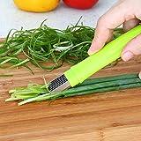 Edelstahl Messer Schere Schnitt Zwiebel Gewinde schneiden Gerät Multifunktional Aktenvernichter Küche Gadget