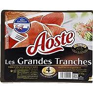 Aoste - Jambon Cru Sans Gluten, 4 Grandes Tranches - (Prix Par Unité ) - Produit Bio Agrée Par AB