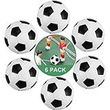 ZAWTR Calcio Balilla, 6 Pezzi Palline Calcio Balilla Mini 32mm, Palline per Calcio Balilla Profesisonale per Bambini…