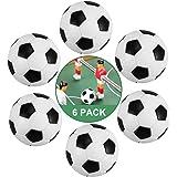 ZAWTR Calcio Balilla, 6 Pezzi Palline Calcio Balilla Mini 32mm, Palline per Calcio Balilla Profesisonale per Bambini Adulti d