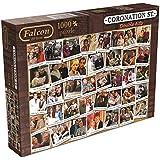 Jumbo Games Falcon de Luxe Coronation Street Double Acts Jigsaw Puzzle (1000-Piece)