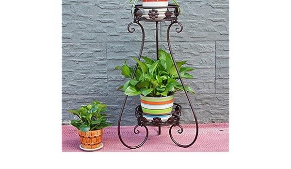 Aishn telaio porta fiori supporto per piante vasi da fiori