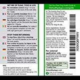 All Natural Pet Flea Treatment & Prevention   Flea Fighter   The Best Solution For Dogs & For Cats   1 Year Supply   Powerful & Safe Formula   Kill, Prevent & Control Fleas Ticks & Lice