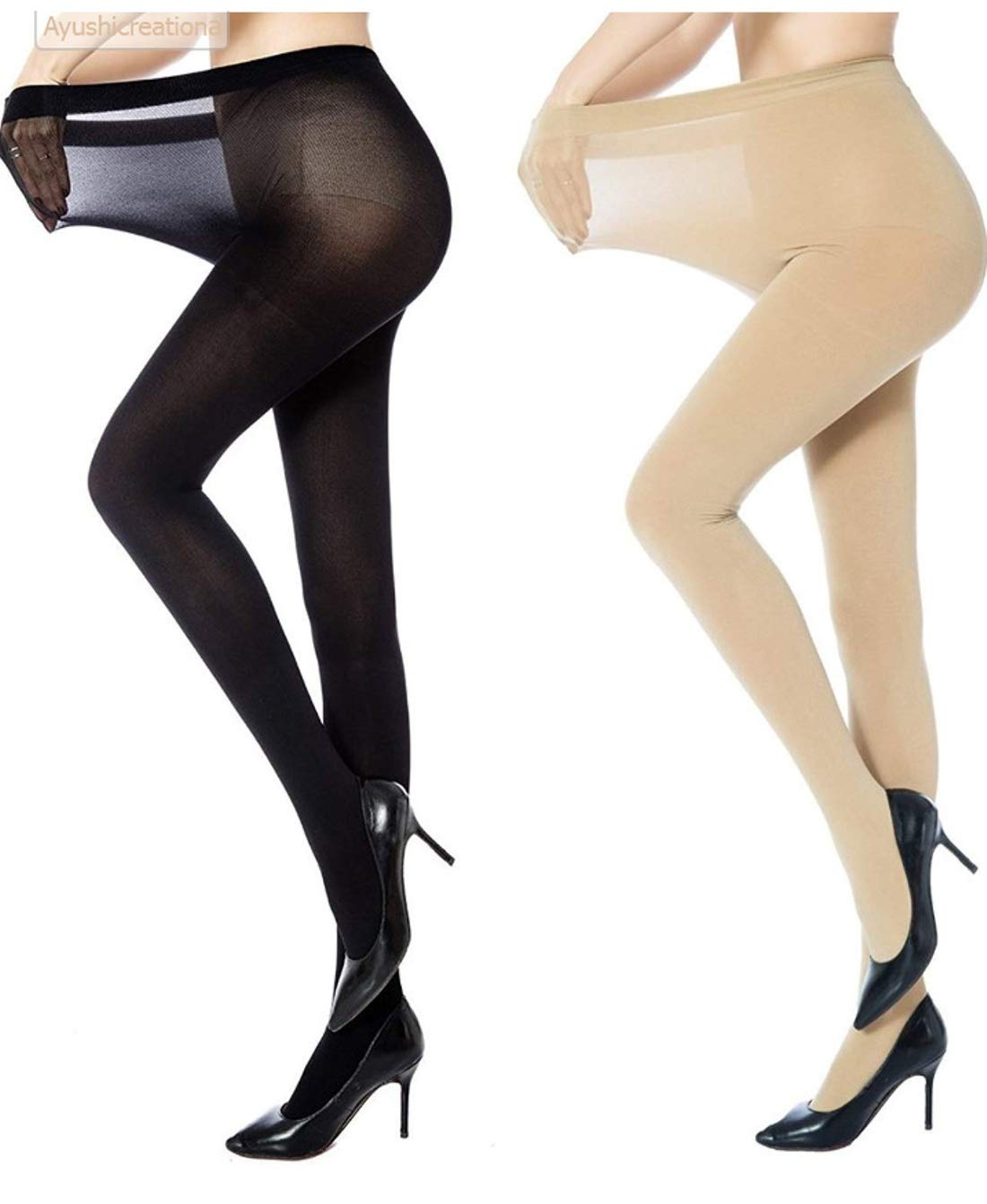 Free pantyhose high heels are