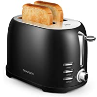 SHARDOR Grille Pain Toaster 800W Acier Inoxydable 2 Fentes Extra Larges Cuisson Uniforme 7 Niveaux de Brunissage…