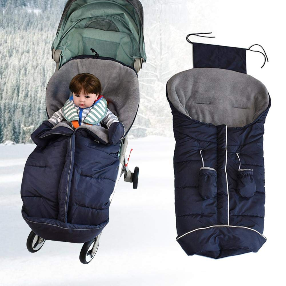 Rlorie Bebé Saco De Dormir Saco De Invierno Universal Para Cochecito Saco De Dormir Para Bebé Saco Para Pies De Bebés…