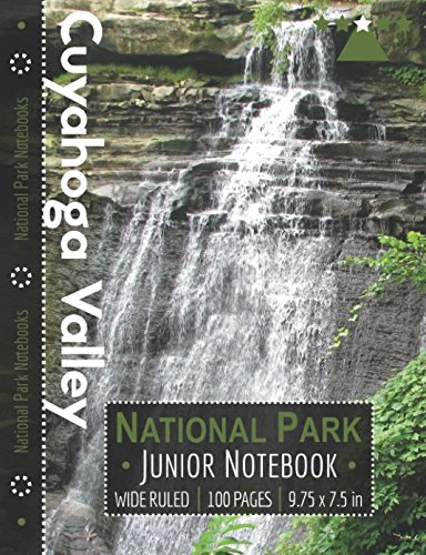 Cuyahoga Valley National Park Junior Notebook: Wide Ruled Adventure Notebook for Kids and Junior Rangers por National Park Notebooks