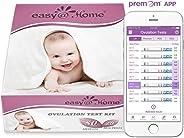 50 x Ovulationstest Fruchtbarkeitstests und 20 x Schwangerschaftstest Streifen von Easy@Home-Unterstützt durch die kostenlose