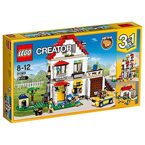Hund, Tür-elektronik (LEGO Creator 31069 - Familienvilla)
