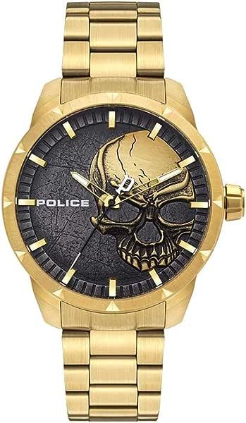 Orologio police parure di gioielli uomo acciaio_inossidabile - pl15715jsg.78m