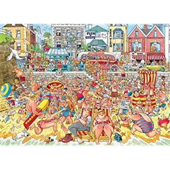 Wasgij High Tide Jigsaw Puzzle (500 Pieces)