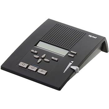 Anrufbeantworter Festnetztelefone & Zubehör Tiptel 215 Digitaler Anrufbeantworter Mit Clip-funktion