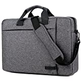 Laptop Tasche 15,6 Zoll, BRINCH stilvoll Nylon Laptop Messenger Bag Umhängetasche Schultertasche Aktentasche für 15-15,6 Zoll Laptop / Notebook / MacBook / Ultrabook / Chromebook Computers,Dunkel Grau