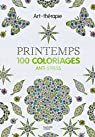 Printemps: 100 coloriages anti-stress par Dellerie
