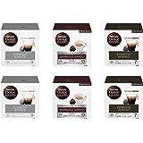 Nescafé Dolce Gusto Kit Degustazione di Caffè Espresso Barista, Espresso Napoli ed Espresso Intenso, 6 Confezioni da 16 Capsu