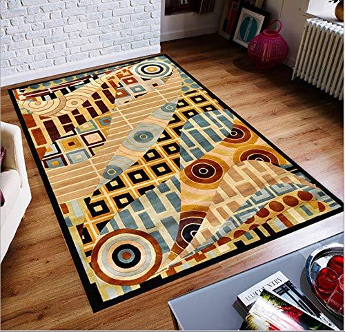 Moderne Teppichkunst Kreative Minimalistische Wohnzimmer Tee-Schlafzimmer Sofa Voller Familienzimmer Nachttisch Teppich rutschfeste Matte 120 cm X 200 cm