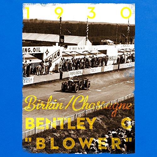 Official LAT Photographic 1930 Le Mans 24 Hours, France T-Shirt, Herren Royalblau