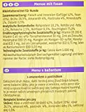 Christopherus Alleinfutter für Hunde, Nassfutter, Gluten- und getreidefrei, Fasan/ Amaranth/ Pastinake, Exklusives Fleischmenü 800 g - 2