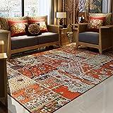 GXQ Böhmen Teppich Wohnzimmer Teppich Eingangstür Stoff Sofa Schlafzimmer Nationalen Wind Bettdecke (Farbe : B, größe : 160x230cm(63x91inch))