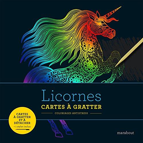 Livre à gratter licorne (Loisirs créatifs)