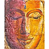 #4: Pitaara Box The Face Of Buddha - MEDIUM Size 16.0 inch x 19.6 inch - FRAMED CANVAS Wall Paintings with 6mm (0.24 inch) THICK MDF MOUNTING FRAME : DIGITAL PRINT Wall Posters Art Panel like Hand Paintings : Home Interior Wall Décor Photo Gifts & Decorative Paintings for Bedroom, Living Room, Drawing, Dining Room, Kitchen, Office, Reception, Bathroom, Outdoor, Gallery, Hotels, Restaurants, & Balcony : Religious : Fine Art Reprint