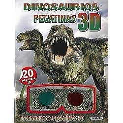 Dinosaurios pegatinas 3D