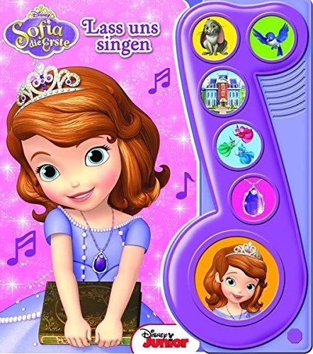 Sofia die Erste, Lass uns singen - Liederbuch mit Sound: Disney Pappbilderbuch mit 6 Melodien