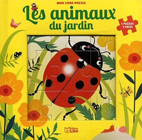 Les animaux du jardin : Puzzle 9 pièces