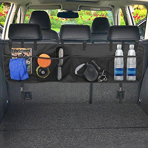 Preisvergleich Produktbild Kofferraum Organizer,Furado Wasserdichtes Oxford-Tuch Kofferraumtasche Auto | Rücksitz Organizer | Auto Aufbewahrungstasche|Sitztasche Auto,Sparen Sie den Platz des Autos,für Auto,SUV,Minivan,Truck