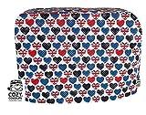 Cozycoverup Staubschutz für Kenwood Food Mixer in British Love (Major Titanium/Chef Elite XL KM020 KM022 KM023 KM0)
