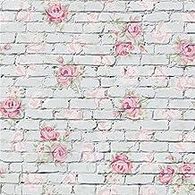 Papel pintado flores vintage for Papel pintado retro barato
