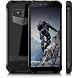 Télephone Portable Incassable débloqué 4G, OUKITEL WP1 2019 Smartphone Résistant Etanche Antichoc extérieur imperméable poussière Mobile IP68 4+64Go Android 8 5,5 Pouces 5000mAh GPS Compas Dual SIM