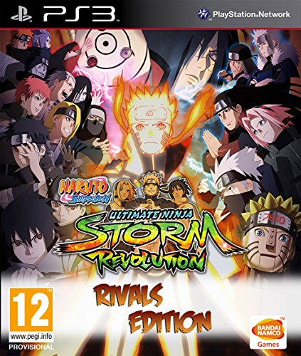 Naruto Shippuden: Ultimate Ninja Storm Revolution - Rivals Edition - Ps3 Ultimate Naruto Ninja