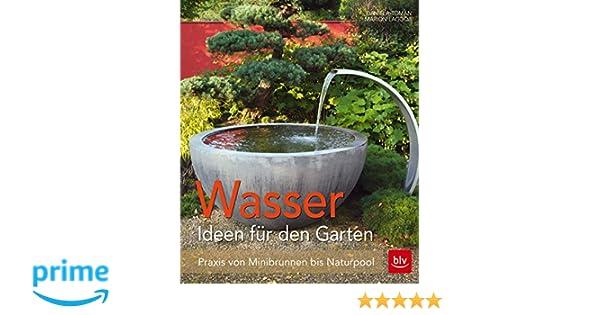 Wasser Im Garten Praxis Von Minibrunnen Bis Naturpool Blv Amazon
