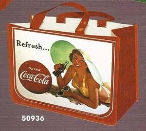 Cabas pin up coca cola