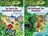 Das magische Baumhaus: 2 Sammelbände im Set inkl. Hörbuch-CD von Mary Pope Osborne - enhalten die Einzelbände 16, 17, 18, 22, 23, 24, 25 und 26