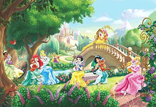 "Sunny Decor Fototapete ""Princess Palace Pets"" , 1 Stück, , Bunt, SD478"