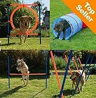 Fun & Sport Lot de 4 jeux d'agilité pour chien
