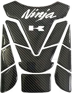 Motorrad Aufkleber Sticker Motorrad Tank Gas Kappen Auflage Behälter Auflage Aufkleber Aufkleber For Kawasaki Ninja 400 250r 400r 250 650 H2 300 1000 Color Black Auto